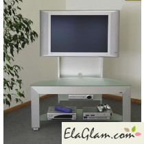 Lcd tv trolley in aluminum h12502