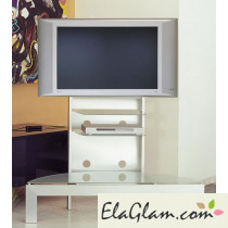 Lcd tv trolley in aluminum h12503