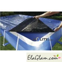 Cover for above ground pools polypropylene diameter 350 cm h17461