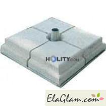 base-in-ferro-verniciato-bianco-con-set-pesi-in-cemento