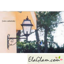 Wall lamp in wrought iron h16840