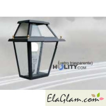Ceiling lamp in wrought iron h16843