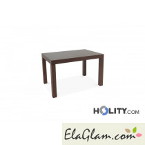 Tavolo rettangolare allungabile in legno h13008
