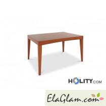 Tavolo rettangolare allungabile in legno h13014