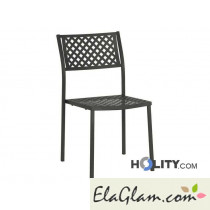 Outdoor chair stacking steel