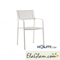 Outdoor chair stacking steel h12307