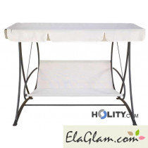 Swinging chair in steel h12311