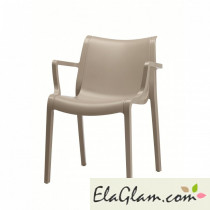 Chair scab bis extraordinary technopolymer h74272 linen
