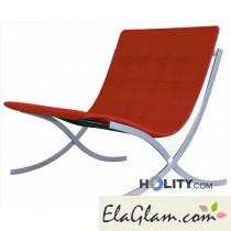 poltrona-da-esterno-seduta-rossa-telaio-inox-h6413