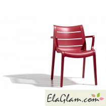 Chair scab sunset h74277 red geranium