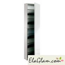 White Shoes rack 1 mirror door h8228