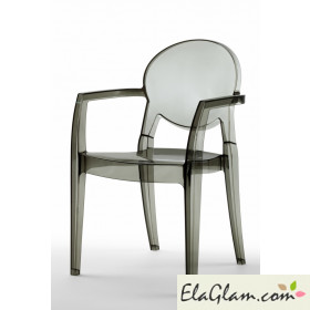 Polycarbonate igloo chair scab h7406
