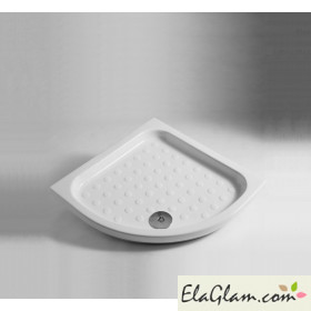 Corner shower tray 90x90 h11639